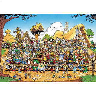 Asterix: Family Portrait