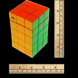 Calvin's 3x3x5 Cuboid with Aleh & Evgeniy logo - Stickerless