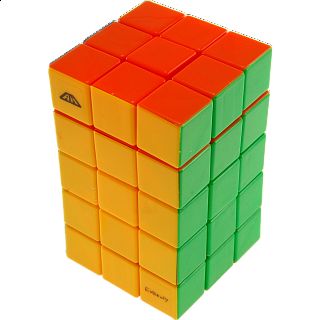 Calvin's 3x3x5 Cuboid with Aleh & Evgeniy logo - Stickerless