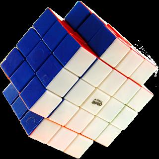 Calvin's 3x3x5 X-Shaped-Cube with Evgeniy logo - Stickerless