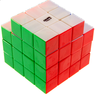 Calvin's 3x3x5 Trio-Cube with Evgeniy logo - Stickerless