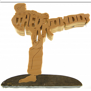 Tae Kwon Do Martial Arts - Wooden Jigsaw