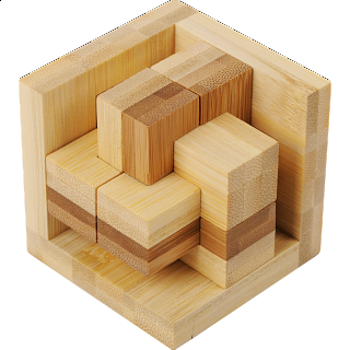 Puzzle Solution for Funzzle - Bamboo Wood Puzzle - Epsilon