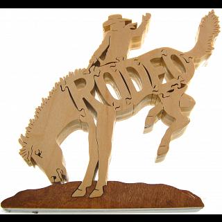 Rodeo - Wooden Jigsaw