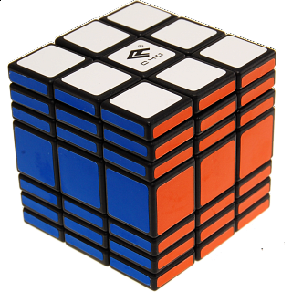 Fully Functional 3x3x7 Cube - Black Body