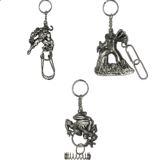 Group Special - A set of 3 Marvel Heroes Puzzle Keychains