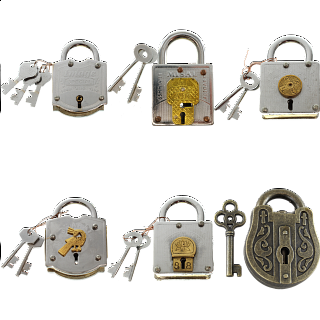 Group Special - a set of 6 Trick Lock puzzles