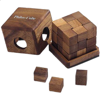 Puzzle Solution for Philos-Cube