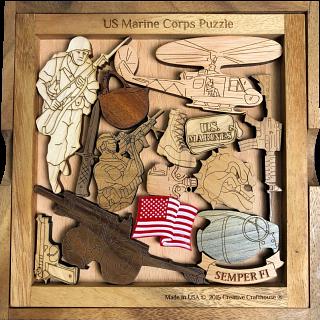 Marine Corps Challenge Puzzle