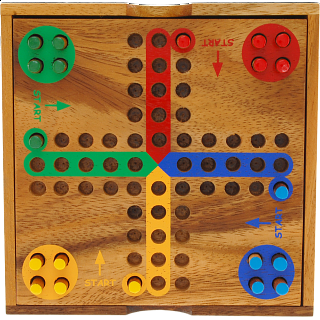 Ludo (Parchesi, Aggravation)