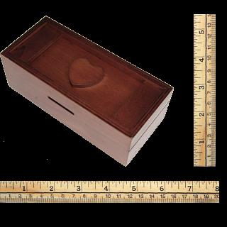 Secret Opening Box - Heart Bank