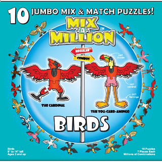 Mix-A-Million: Birds