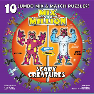 Mix-A-Million: Scary Creatures
