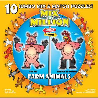 Mix-A-Million: Farm Animals