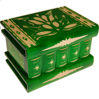 Puzzle Solution for Romanian Puzzle Box - Medium Green