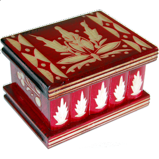 Puzzle Solution for Romanian Puzzle Box - Small Red
