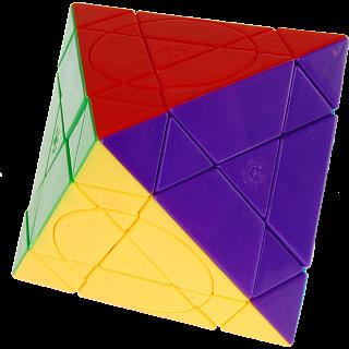 Crazy Octahedron Plus - Stickerless - Mercury