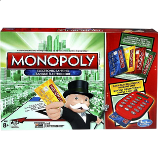 Monopoly: Electronic Banking - 4 Player Edition