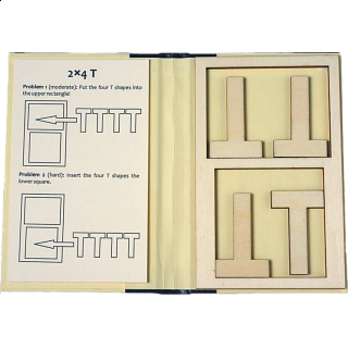Puzzle Solution for Puzzle Booklet - 2x4 T