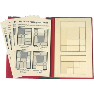 Puzzle Booklet - Classic Sliding Pieces