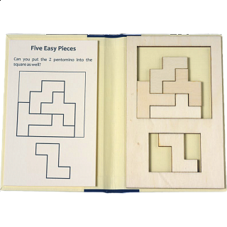 Puzzle Solution for Puzzle Booklet - Five Easy Pieces