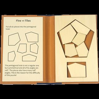 Puzzle Booklet - Five +1 Tiles