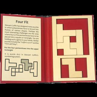 Puzzle Booklet - Four Fit