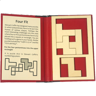 Puzzle Booklet - Four Fit