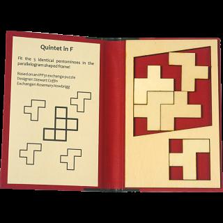Puzzle Booklet - Quintet in F