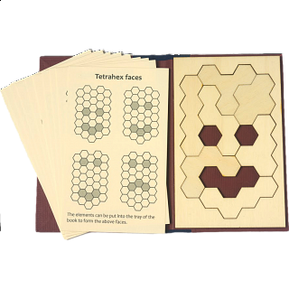 Puzzle Solution for Puzzle Booklet - Tetrahex