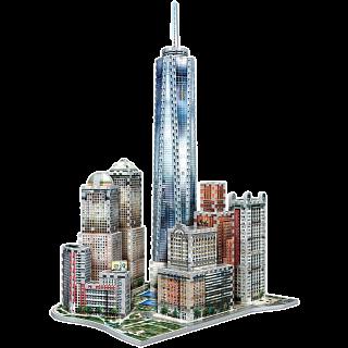 New York Collection: Downtown World Trade - Wrebbit 3D Jigsaw