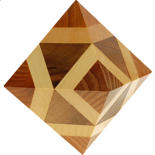 Puzzle Solution for Octahedron Box