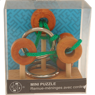 Mini Rope Puzzles - Set of 6