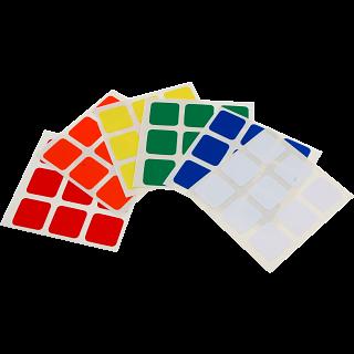 3x3x3 Dayan Sticker Set