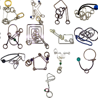 .Level 9 - a set of 13 wire puzzles