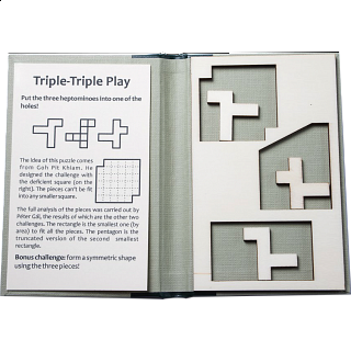 Puzzle Solution for Puzzle Booklet - Triple-Triple Play