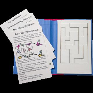 Puzzle Booklet - Geomagic Hexominoes