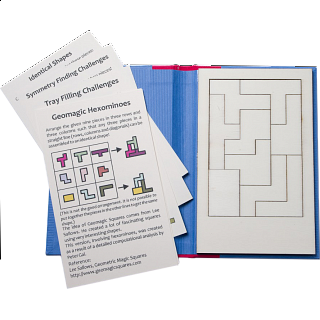 Puzzle Solution for Puzzle Booklet - Geomagic Hexominoes