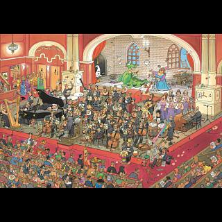 Jan van Haasteren Comic Puzzle - St. George and the Dragon