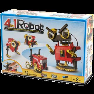 4-in-1 Educational Motorized Robot Kit