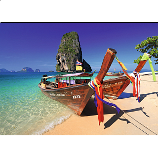 Caribbean Boats (Phra Nang Beach, Krabi, Thailand)