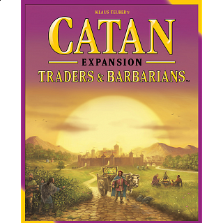 Catan Expansion: Traders & Barbarians - 5th Edition