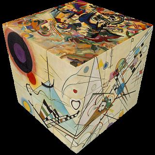 V-CUBE 3 Flat (3x3x3): Kandinsky