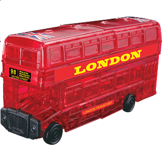 Puzzle Solution for 3D Crystal Puzzle - London Bus