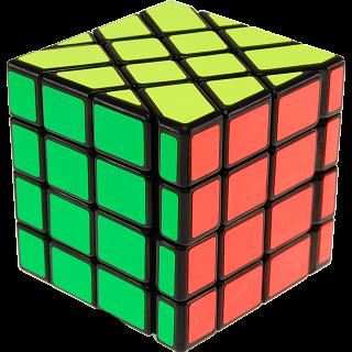 4x4x4 Windmill Cube - Black Body