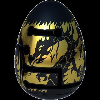 Smart Egg 2-Layer Labyrinth Puzzle - Level 3 Black Dragon