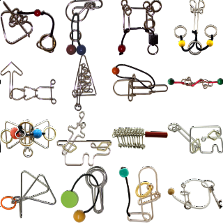 .Level 10 - a set of 13 wire puzzles