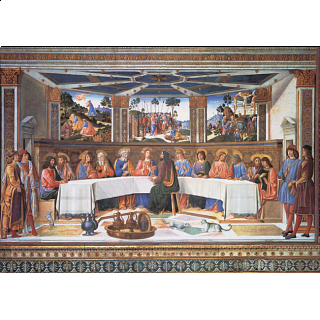 Museum Collection: The Last Supper - Rosselli