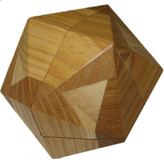 Puzzle Solution for Vinco Icosahedron
