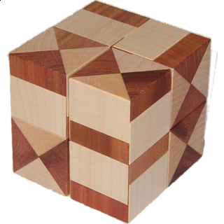 Puzzle Solution for Theo's Halfcubes
